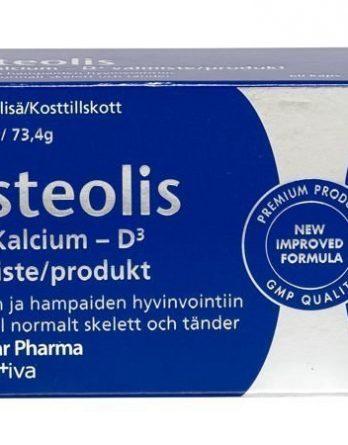 Polar Pharma Osteolis K2 Kalkki D3 60 tabl