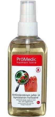 ProMedic antimikrobinen jalka- ja kynsisienen hoitoaine 80 ml