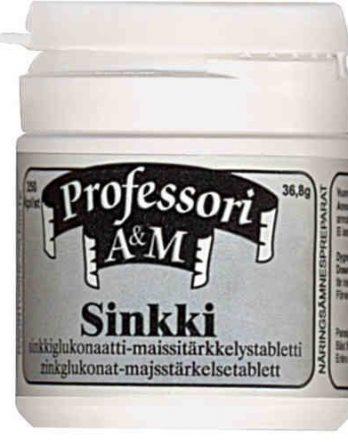 Professorin Sinkki 250 tablettia