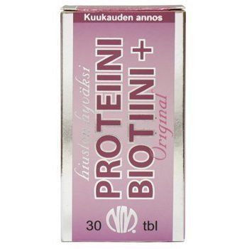 Proteiini Biotiini+ kalaproteiini 30 tablettia