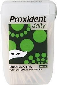 Proxident Duoflex Puuhammastikku Fluorilla 150 kpl