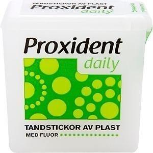 Proxident Muovihammastikku Fluorilla 100 kpl
