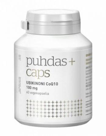 Puhdas+ Caps Ubikinoni CoQ10