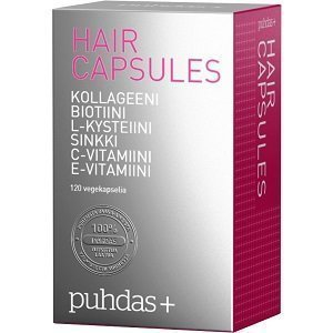 Puhdas+ Hair Capsules 120 kapselia