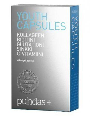 Puhdas+ Youth capsules vegekaps 60 kpl