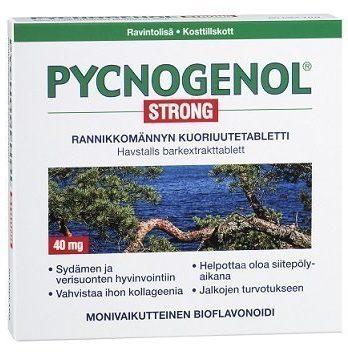 Pycnogenol Strong superantioksidantti 60 tabl.