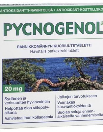 Pycnogenol rannikkomännyn kuoriuutetabletit