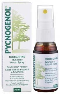 Pycnogenol rannikkomännynkuorituute suusuihke 30 ml.