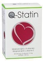 Q-Statin 60mg + E-vitamiini 12mg 60 kapselia