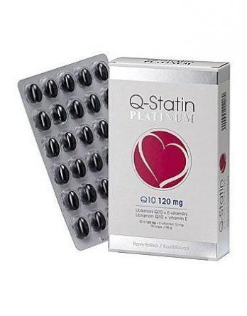 Q Statin Q10 ubikinonivalmiste 120 mg platinum