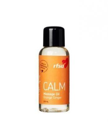 RFSU Calm Hierontaöljy appelsiini inkivääri