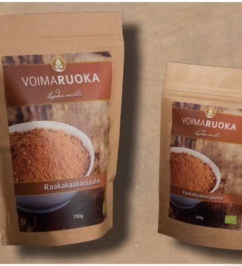 Raakakaakaojauhe LUOMU500 g Voimaruoka