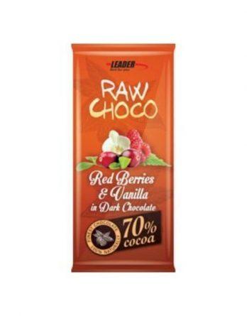 Raw Choco Red Berry-vanilla mix