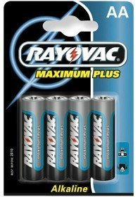 Rayovac Maximum Plus Aa (R6) 4 kpl