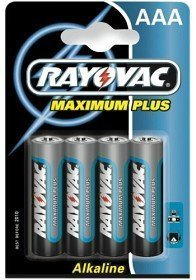Rayovac Maximum Plus Aaa (LR03) 4 kpl