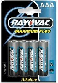 Rayovac Maximum Plus Aaa (LR03) 4 kpl