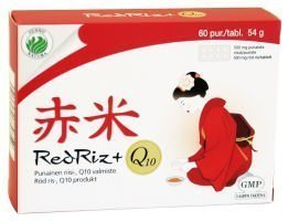Red Riz + Q10 60 tabl.