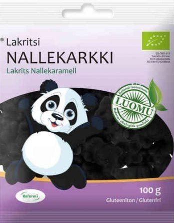 Reformi Lakritsi Nallekarkki 100 g