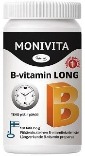 Reformi Monivita B-vitamin Long 100 tabl.