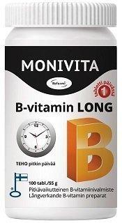Reformi Monivita B-vitamin Long 100 tabl.