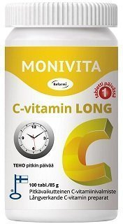 Reformi Monivita C-vitamin Long 100 tabl.