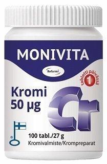 Reformi Monivita Kromi 100 tablettia
