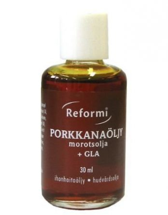 Reformi Porkkanaöljy + GLA