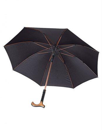Rehaforum Sateenvarjo Kävelykeppi Musta