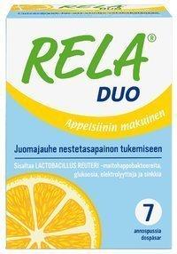 Rela Duo juomajauhe 7 annospussia