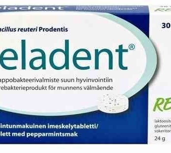Reladent maitohappobakteerivalmiste 30 tablettia