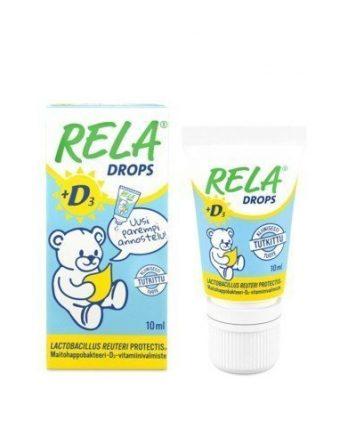 Reladrops + D3 tipat 10 ml