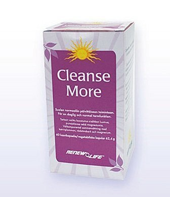 Renew Life Cleanse More 60 tablettia