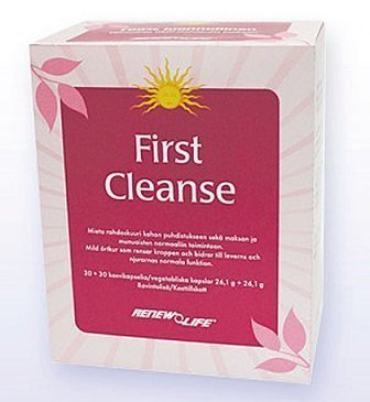 Renew Life First Cleanse 30+30 tablettia