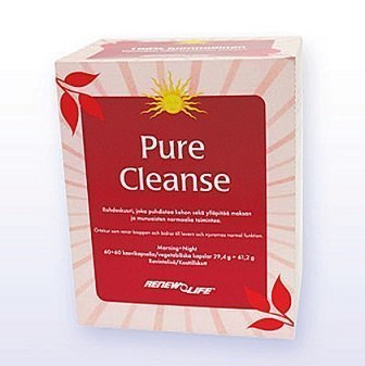 Renew Life Pure Cleanse 60+60 tablettia