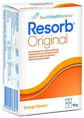 Resorb Original Apelsin Brustabletter 20 kpl