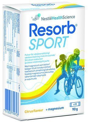 Resorb Sport Citron Dospåsar 10 kpl