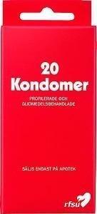 Rfsu Kondomit 20 kpl