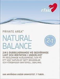 Rfsu Natural Balance Geeli Kertakäyttöputkilossa 7 kpl