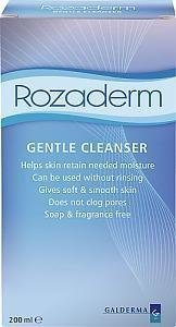Rozaderm Gentle Cleanser 200 ml