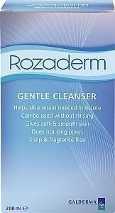 Rozaderm Gentle Cleanser 200 ml