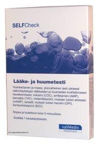 SELFCheck Lääke- ja huumetesti