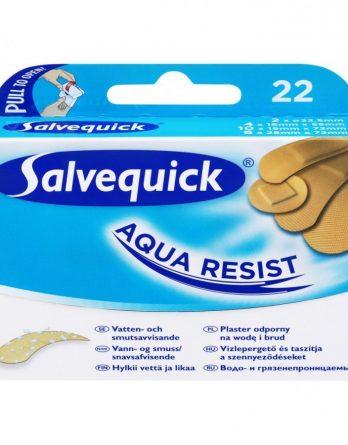 Salvequick Aqua Resist Muovilaastari 22 Kpl