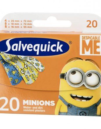 Salvequick Minions Laastari 20 Kpl