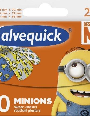 Salvequick Minions Lastenlaastari 20 Kpl