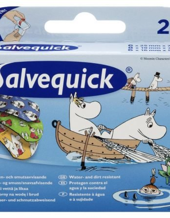 Salvequick Muumi Laastari 20 Kpl