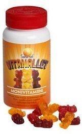 Sana-sol Vitanallet Monivitamiini 60 kpl