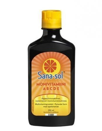 Sana-sol monivitamiinivalmiste 250 ml