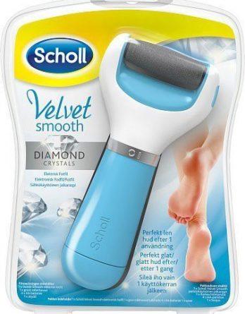 Scholl Velvet Smooth Diamond Sähköinen Jalkaraspi