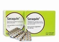 Seraquin 800 mg täydennysrehu kissoille ja pienille koirille