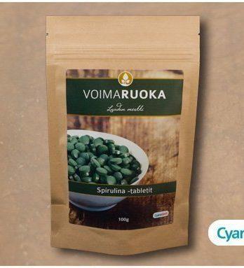 Spirulina Tabletit 100 g Voimaruoka